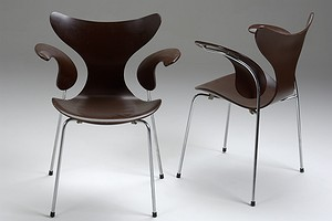 Set of Four Jacobsen Seagull Chairs