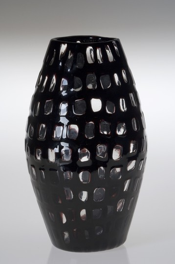 Large image of Venini Occhi Vase