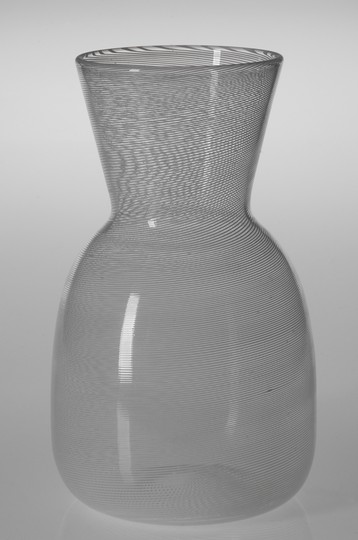 "Large image of Venini ""Mezza Filigrana"" Vase"