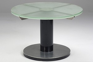 Thirties Glass Table