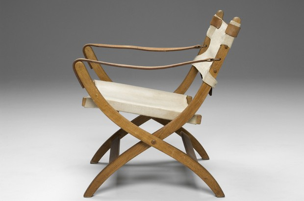 Large image of Pair of Safari Chairs
