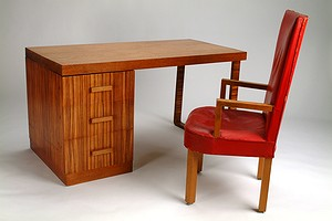 Desk & arm chair