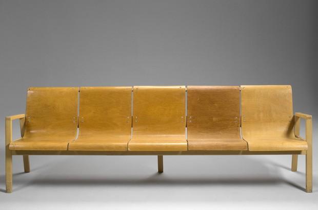 Large image of Alvar Aalto Hallway Sofa