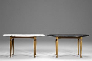 Pair of Oval Josef Frank Tables
