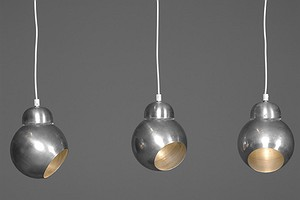 "Three Aalto Pendants ""Bilberry"" A338"