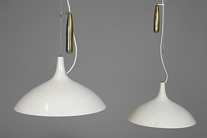 Pair of Pavo Tynell Ceiling Lamps