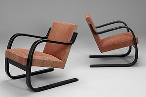 Pair of Early Aalto Chairs