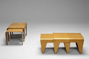 Two Sets Breuer Nesting Tables