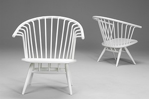 Pair of 'Crinolette' Chairs