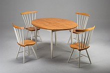 "Set of table and chairs ""Pelimanni"""