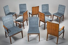 8 chairs and 2 armchairs