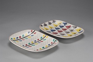 Two Gustavsberg Dishes