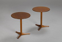 "Pair of ""Äpplet"" Side Tables"