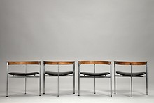 Four PK-11 Chairs