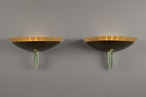 Pair of Forties Wall Lamps