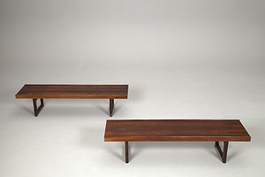 Pair of Torbjorn Afdal Benches
