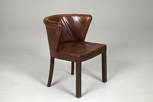 Fritz Henningsen Leather Chair