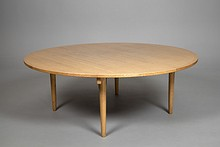 Large Wegner Dining Round Table