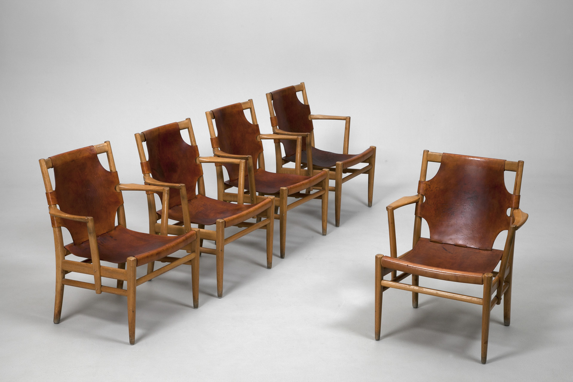 Five Armchairs