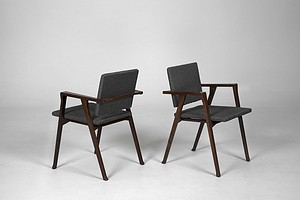 "Pair of ""Seda Luisa""Chairs"