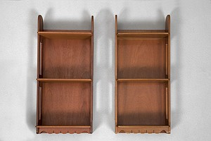 Pair of Josef Frank Hanging Shelves