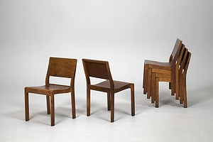 Set of Six Aalto Chairs