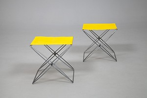Pair of Propeller Stools