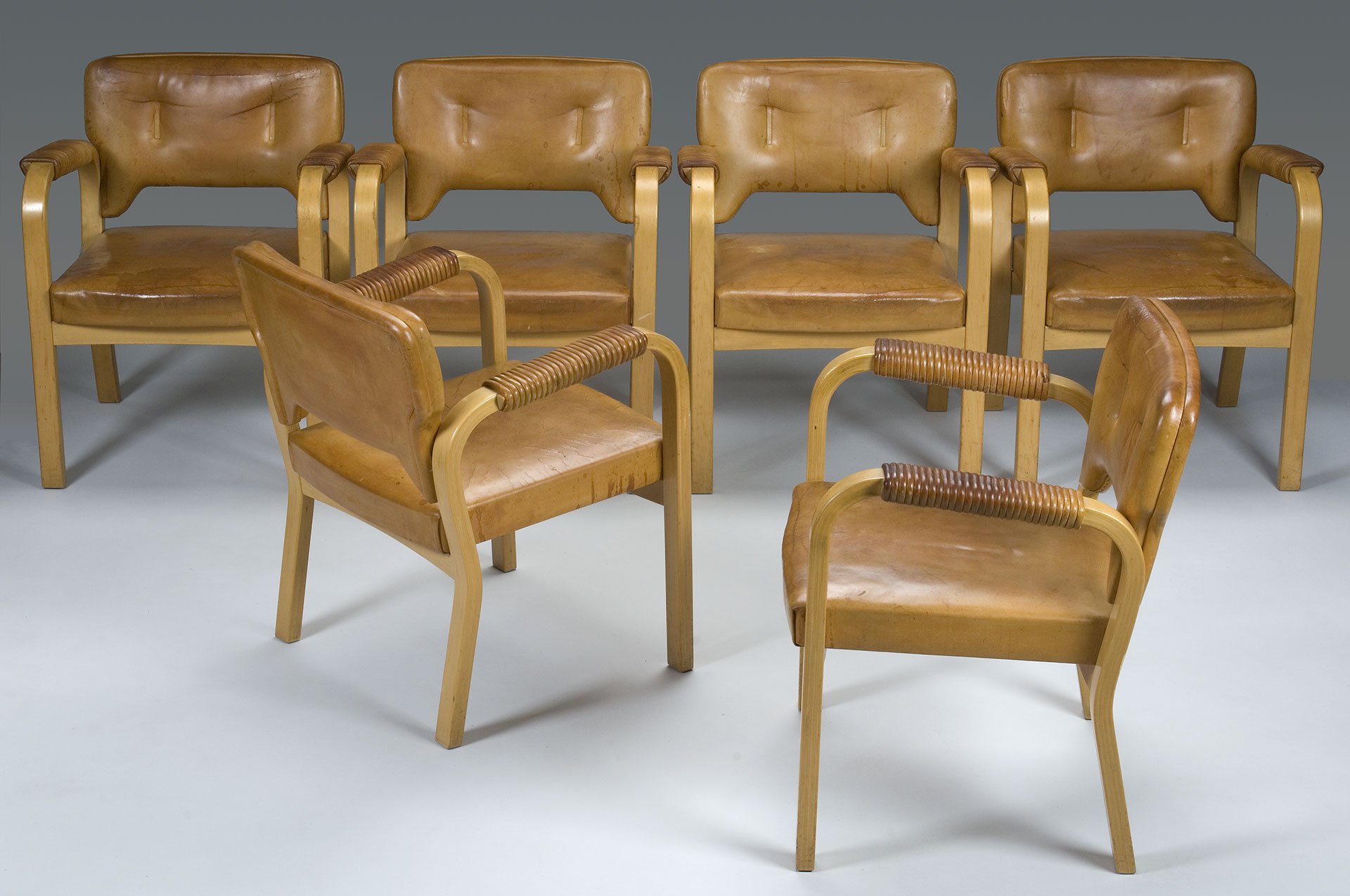 Set of Six Chairs by Maija Heikinhelmo
