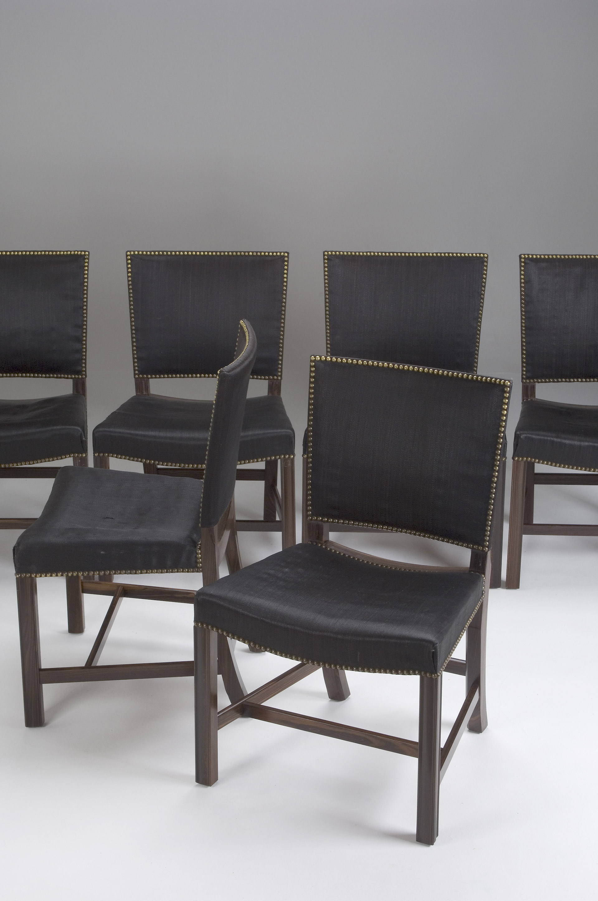 Set of Six Kaare Klint Chairs