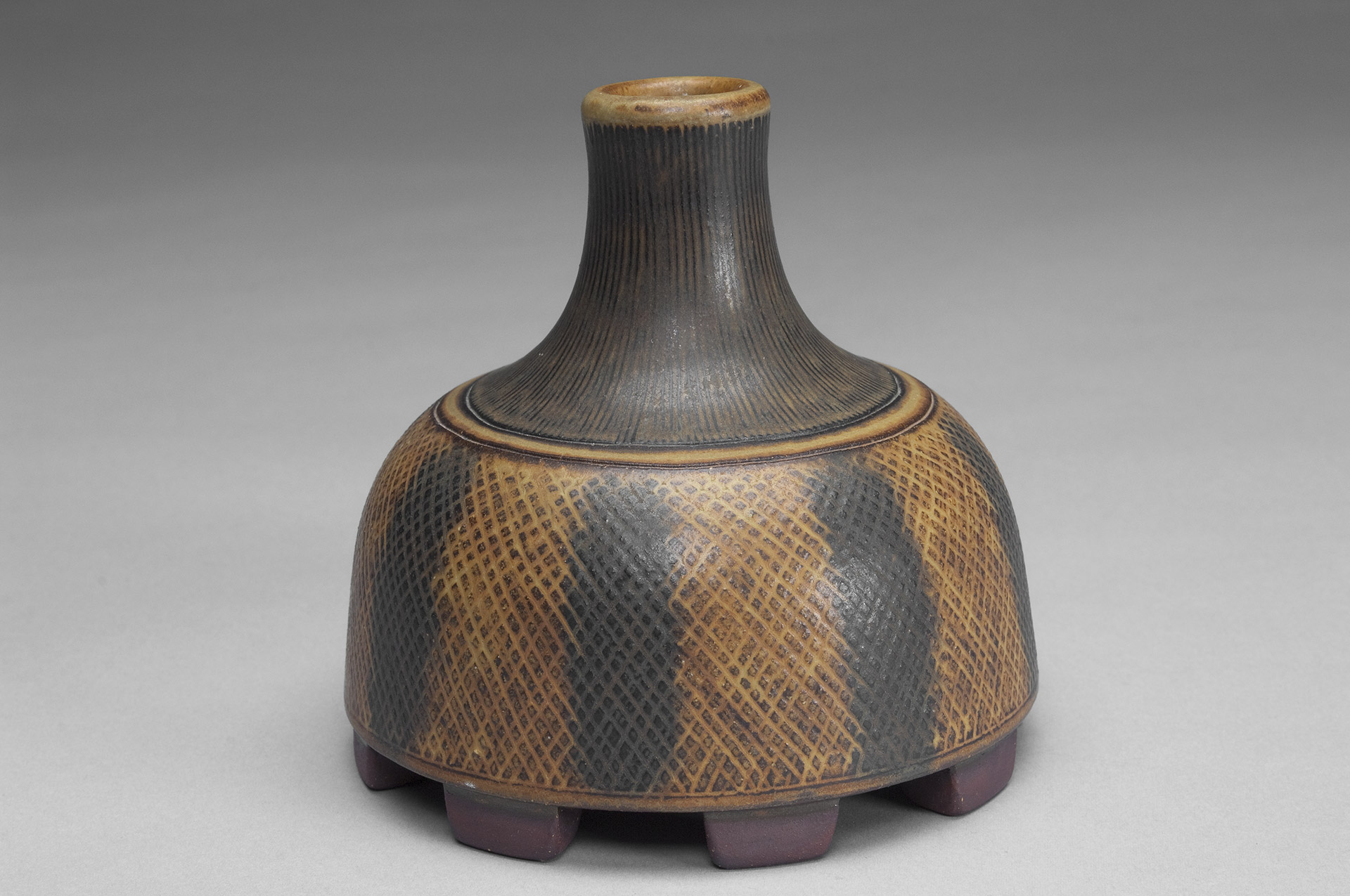 Footed Farsta Vase