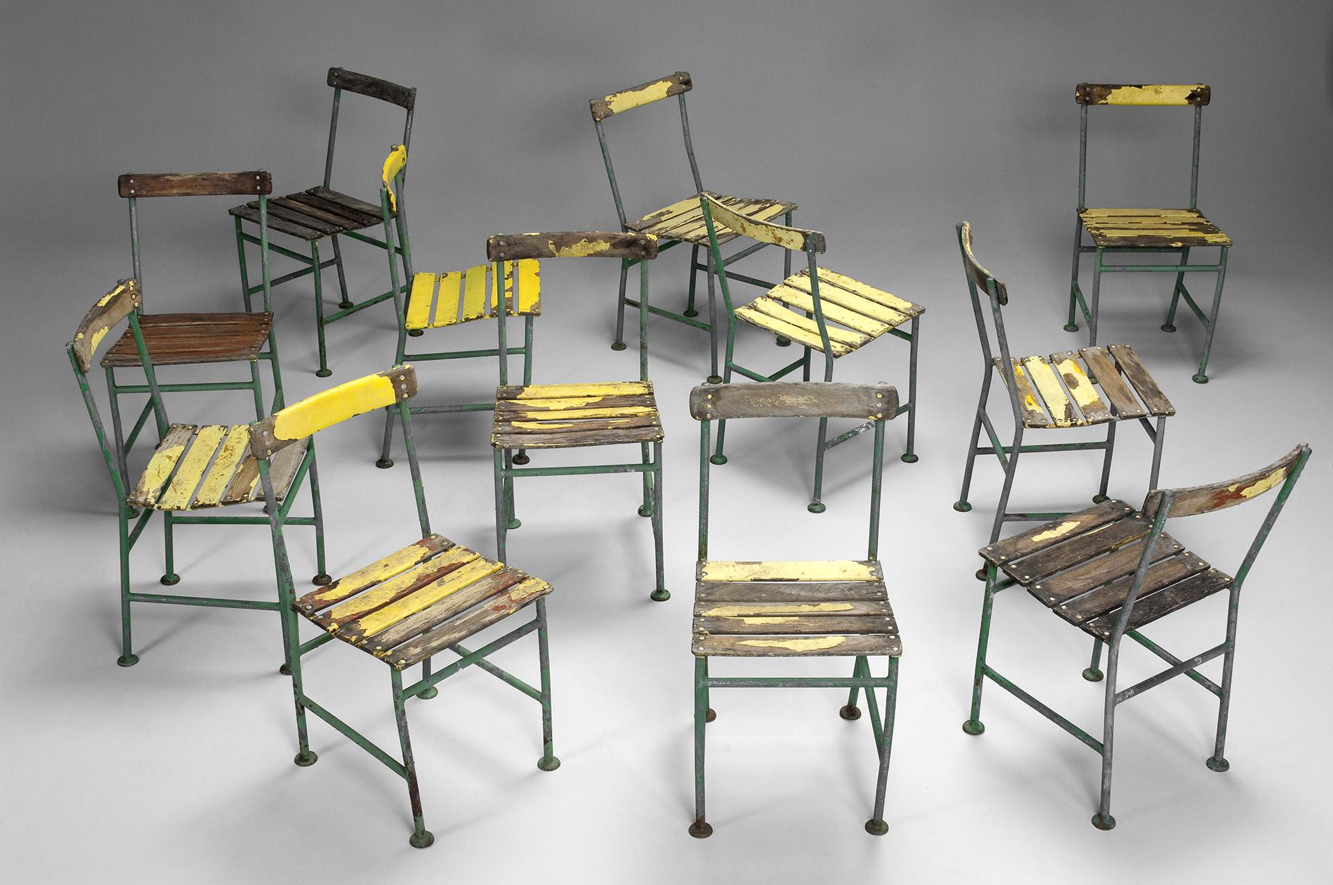 Set Of Twelve Chairs