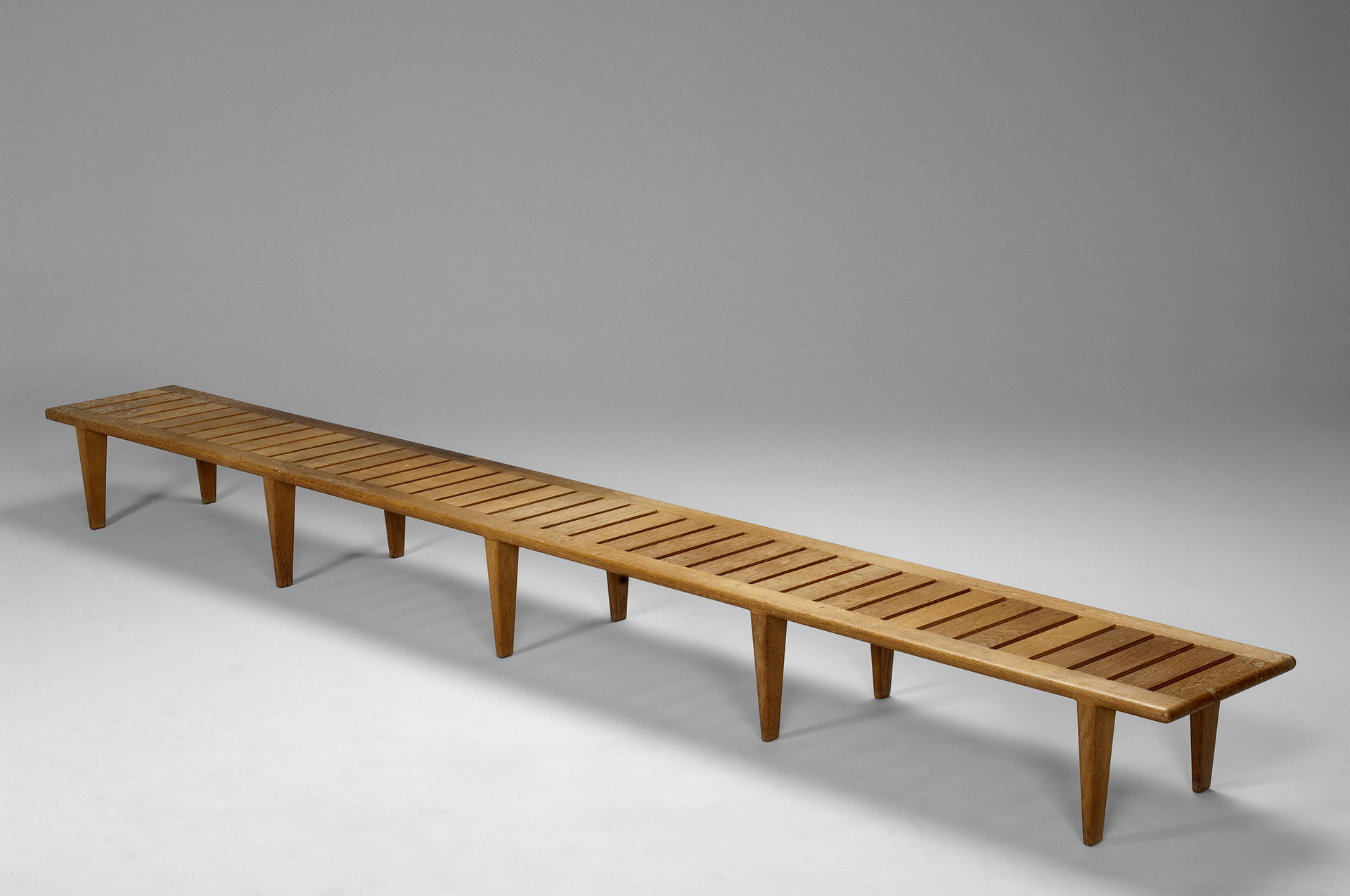 Unique Long Wegner Bench