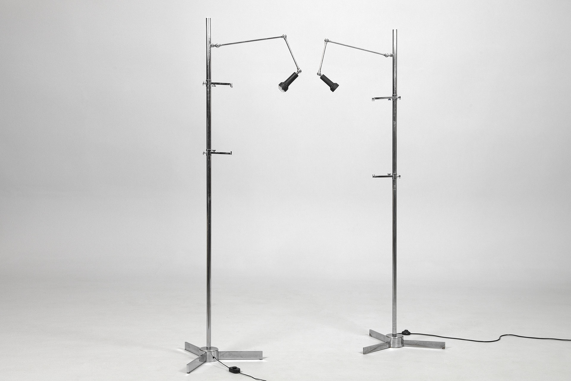 "Pair of Arredoluce "" Cavalletto"" Lamp Easels"