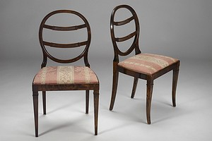 A Pair of Neoclassical Chairs