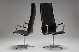 Set of Two Jacobsen Oxford Armchairs