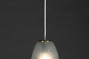 Small Orrefors Ceiling Lamp