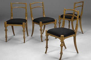 Set of Four Swedish Chairs