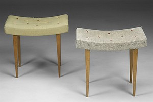 Pair of Bruno Mathsson Stools