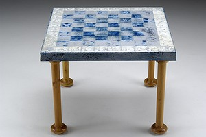 Enamel Chess Table