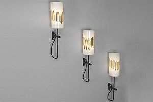 Three Murano Wall Lamps