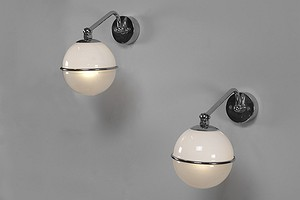 Pair of Paavo Tynell Wall Lamps