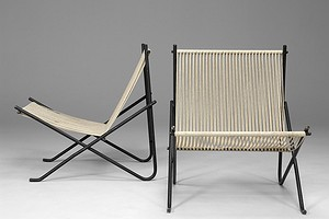 "Poul Kjaerholm ""Holscher"" Chairs"