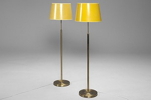 Pair of Josef Frank Floor Lamps