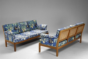 Pair of Josef Frank Sofas