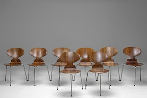 "Eight ""The Ant"" Chairs"