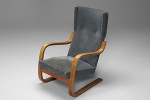 Alvar Aalto Highback Chair No. 401