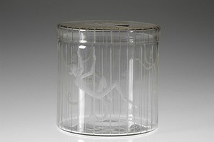 """Monkey Cage"" Lidded Jar"