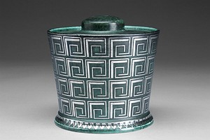 Argenta Lidded Pot