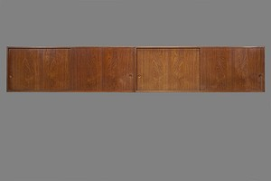 Two Hans Wegner Wall Cabinets
