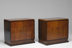 Pair of Small Neoclassical Chests